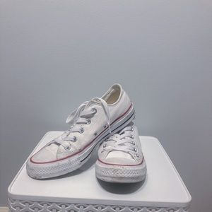 Convers Low Top White Sneakers